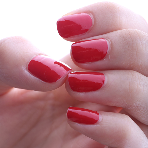 HIGH'S Single Color Series Nail Polish Strips, Crimson