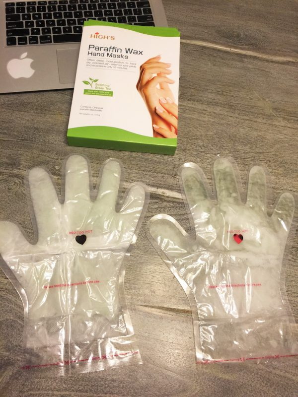 Paraffin Wax Hand Masks-Green Tea